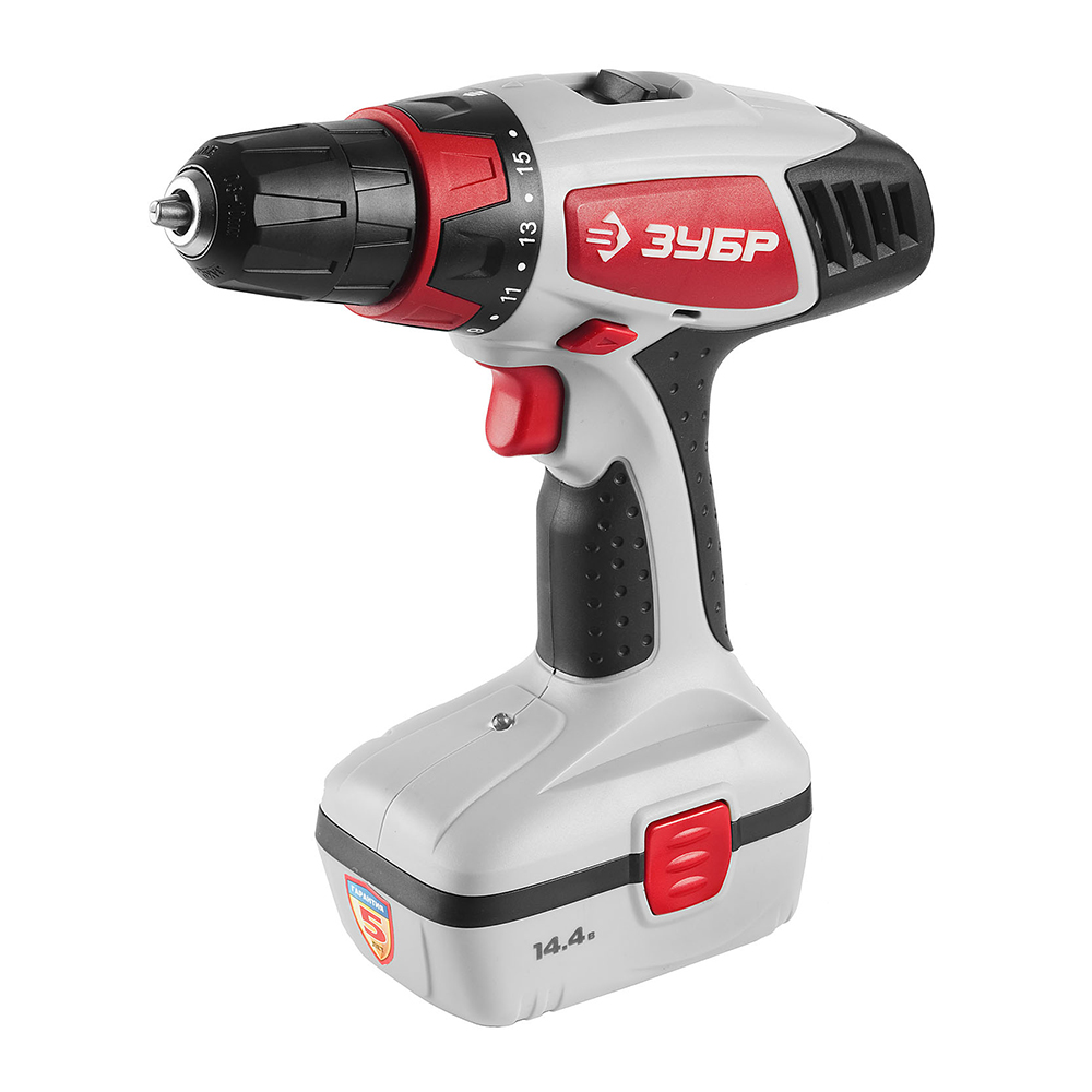 Cordless drill screwdriver ZUBR ZDA-14.4-2 hilda 12v electric drill rechargeable lithium battery 2 electric screwdriver cordless screwdriver two speed power tools
