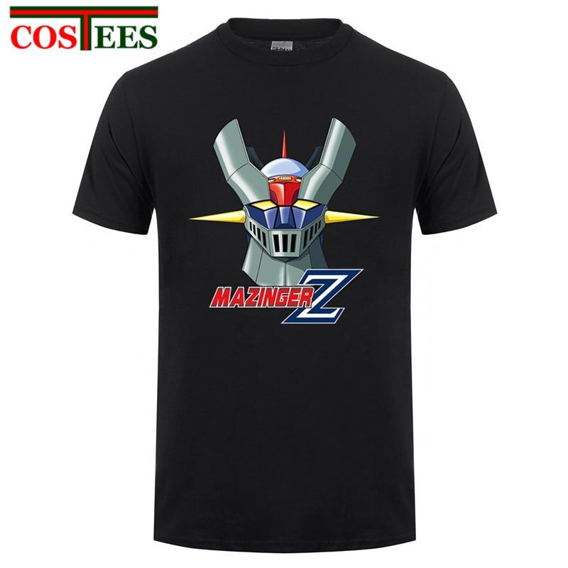 2017 New Arrival Anime Mazinger Z 03 Men T Shirt Customized 100% Cotton Short Sleeve T-shirt FashionMen's Clothing Top Tee Shirt