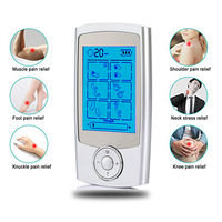 16Mode Electric Acupuncture Massager EMS Pads Massage Muscle Stimulator Pain Relief Body Massager physiotherapy Health Care Tool