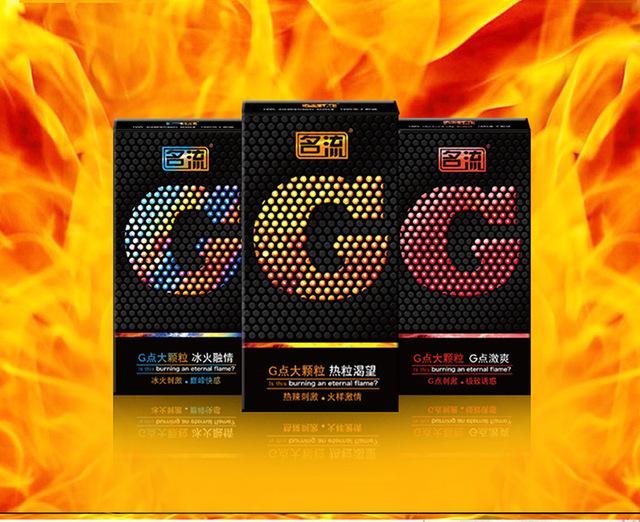 20Pcs G spot Condoms Stimulators Latex Big Particle Sex Condoms Sex Tool Safe Contraception Sex Products for Men Sex Toys PY732