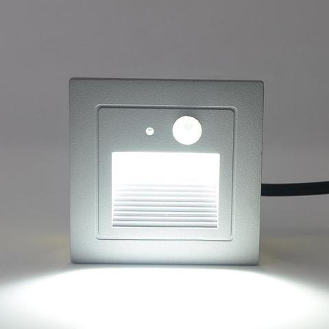 3 w aluminio fundido lampada de canto