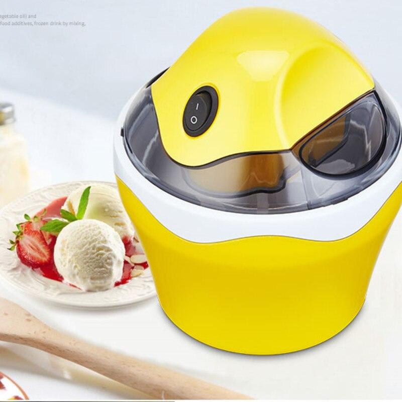 Ice Cream Machine Household Small-sized Fully Automatic Children Self-control Do Fruits Ice Cream Ice Cream Make Machine 5
