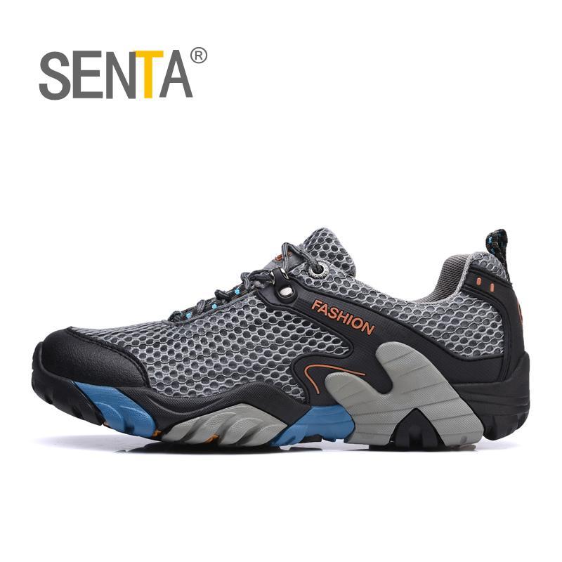 Mens Fashion Hiking Shoes Outdoor Trail Trekking Sneaker Climbing Mountain Shoes
