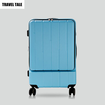 TALE Blue Carry On Suitcase 1