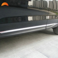 Subaru Forester 2013 2014 ABS Body Side Moulding Trim Overlay 4PCS