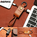 REMAX Leather Keychain USB Cable Fast Charging Data Sync For Android Micro Cable Micro usb For iPhone 5 6 7 iPad 2 3 iOS 8 9 10