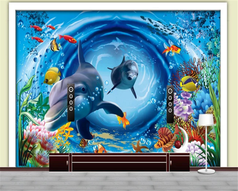 beibehang Custom size Three-dimensional decorative painting fashion papel de parede 3d wallpaper childrens room background