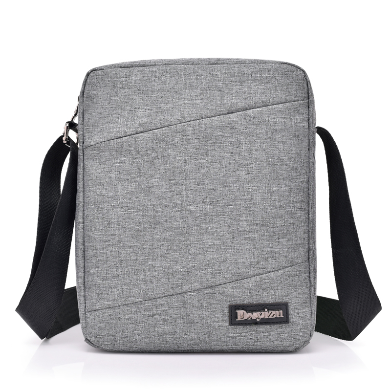 New Fashion Vintage Men Denim Handbags High Quality Men Crossbody Shoulder Bags Male Small Capacity Women Messenger Bags Grey