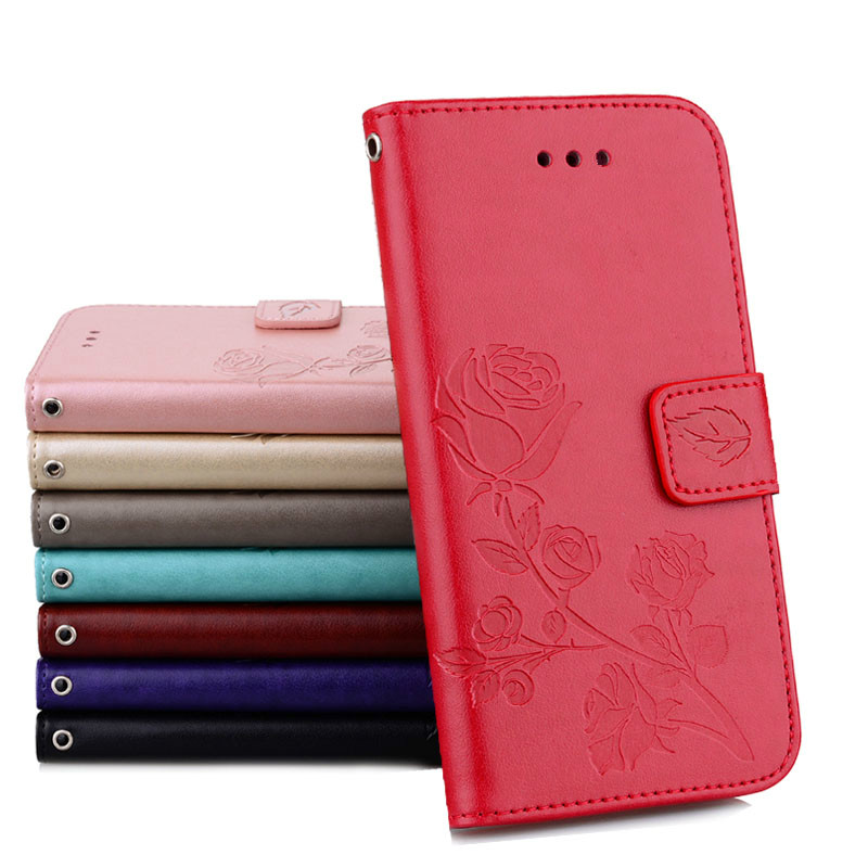 Konfurer Magnetic Flip Luxury Leather Phone Case For Samsung Galaxy A3 2017 A320 Light Weight Ultra Thin Cover Case Holster Bag