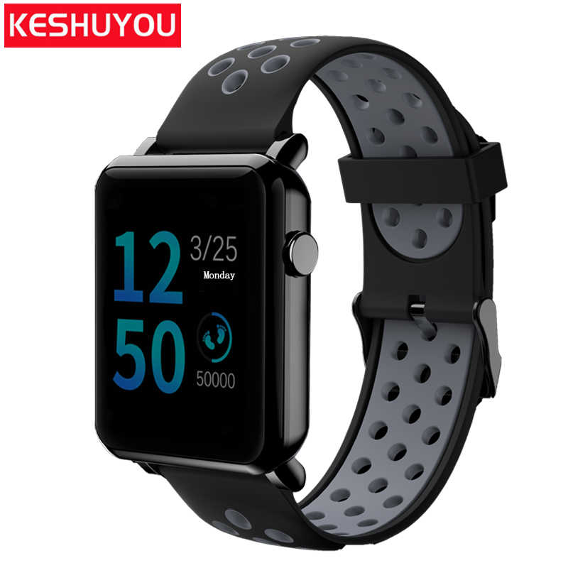 Detail Feedback Questions about KESHUYOU KY106 smart wristband sport