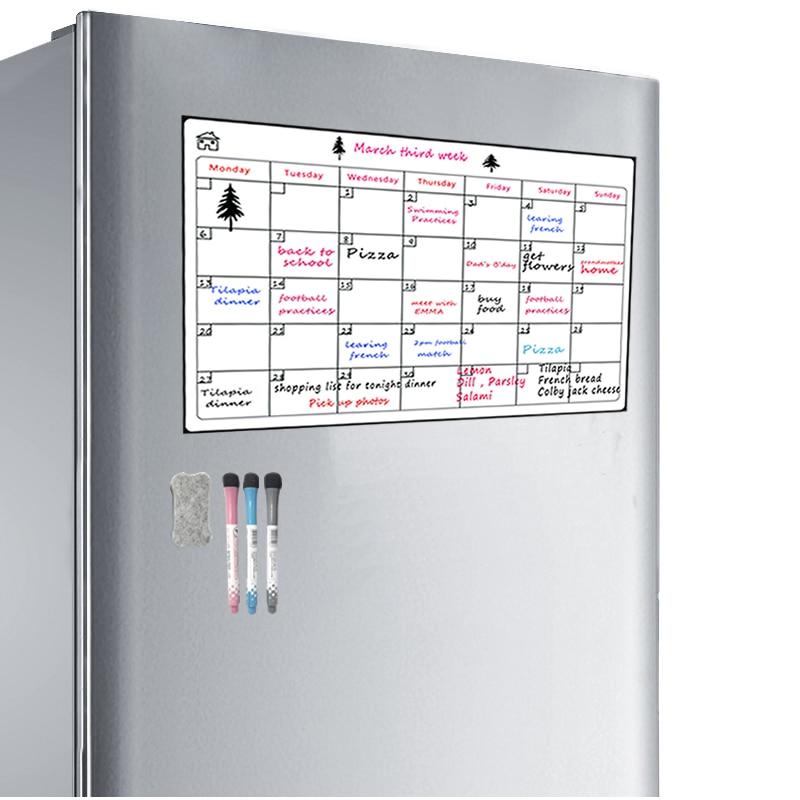 Monthly Refrigerator Calendar 16.5