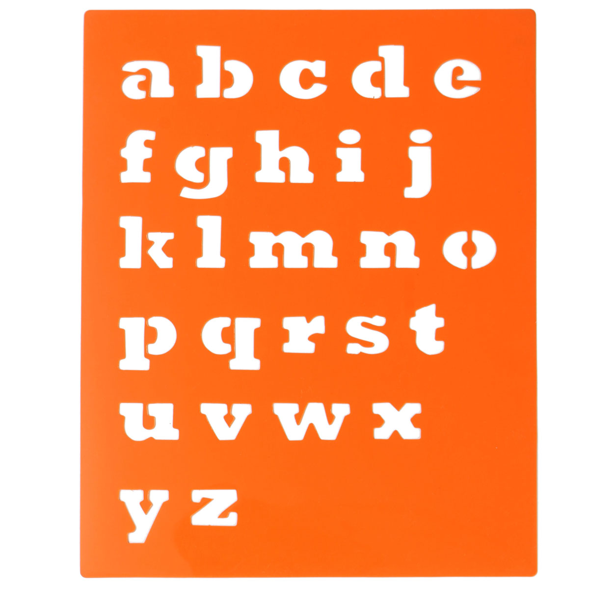 Niños Capitall Alfabeto Carta Dibujo Plantillas Plantillas 6 Unids ...