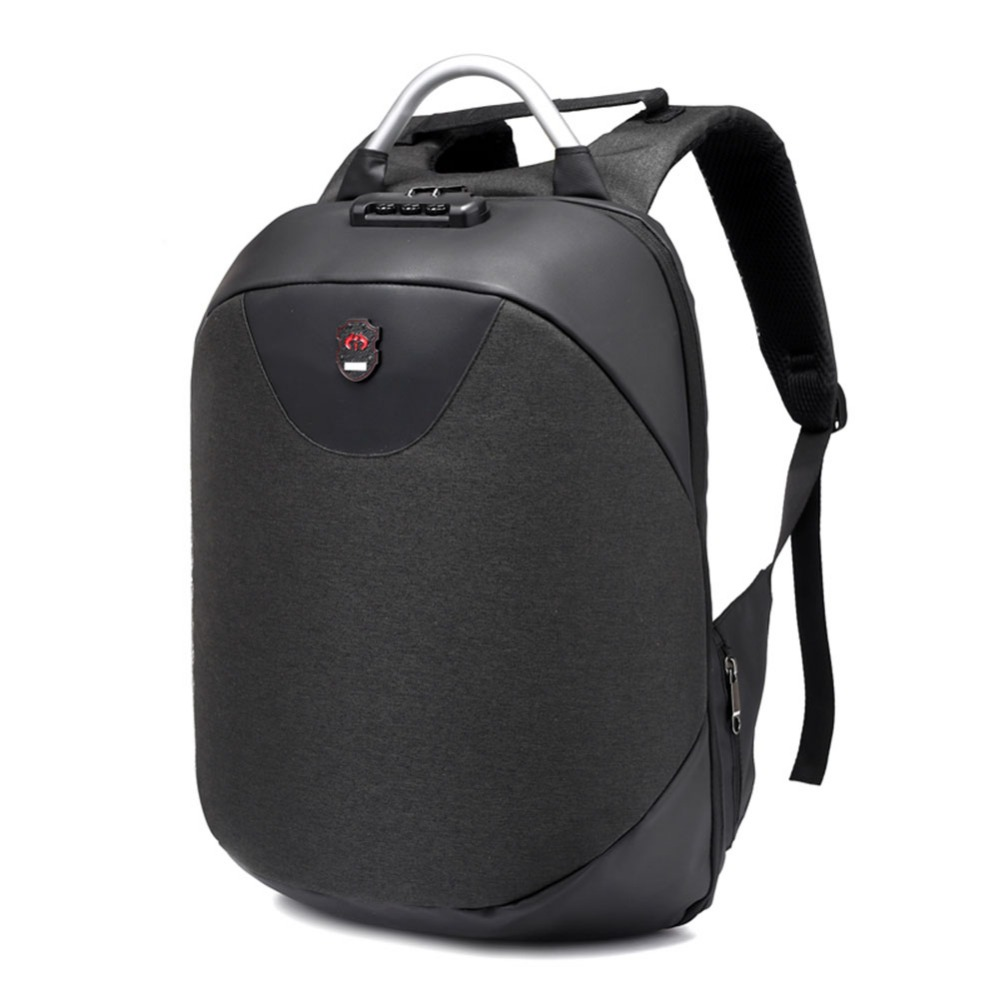 15.6 Inch Laptop Anti-Theft Backpack With USB Charging Headphone Interface Port Lock Business Waterproof For Work Women