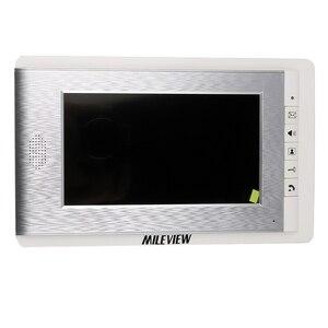 Image 3 - Visiophone avec écran couleur 7 pouces, système dinterphone vidéo de porte/sonnette pour 2/3/4 maisons, en Stock, livraison gratuite