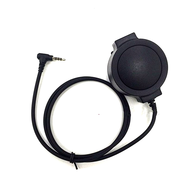 Big Round PTT J Standard For Z Tactical Bowman Headset For Walkie Talkie Yaesu Vertex VX-3R VX-110 FT-10R Two Way Radio
