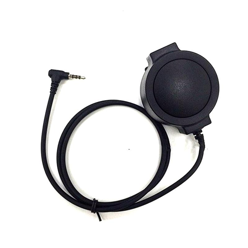Big Round PTT J Standard For Z Tactical Bowman Headset For Walkie Talkie Yaesu Vertex VX-3R VX-110 FT-10R Two Way Radio