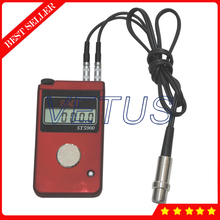 Cheaper SADT ST5900 0.1mm Resolution Handheld Digital Ultrasonic Thickness Gauge Meter Tester for only steel wall thickness measurement
