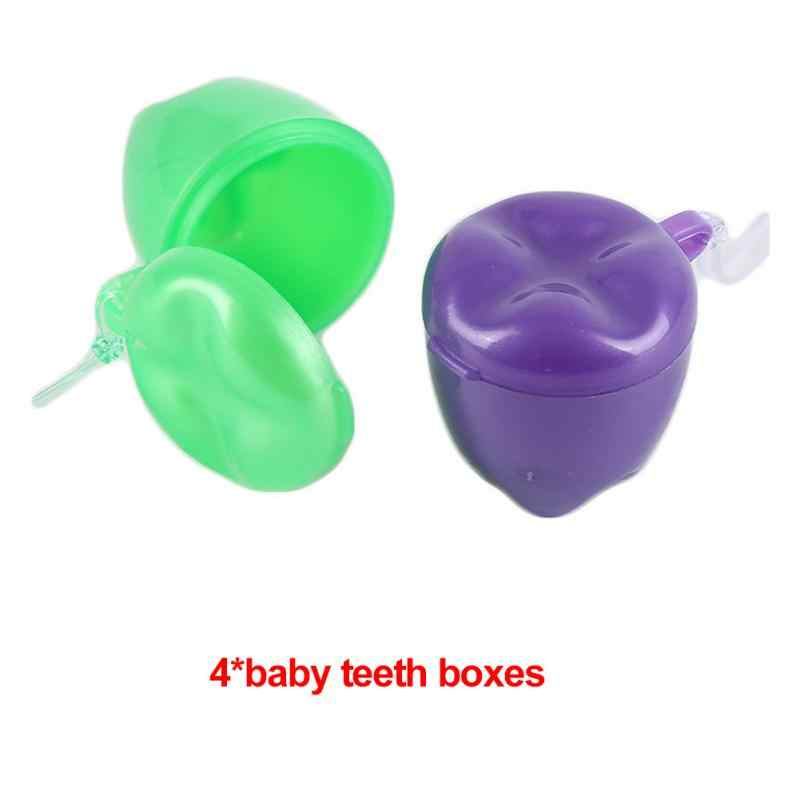 เด็กที่มีสีสันฟันนมกล่องฟันปลอมฟันกรณีฟันปลอมอุปกรณ์เสริม