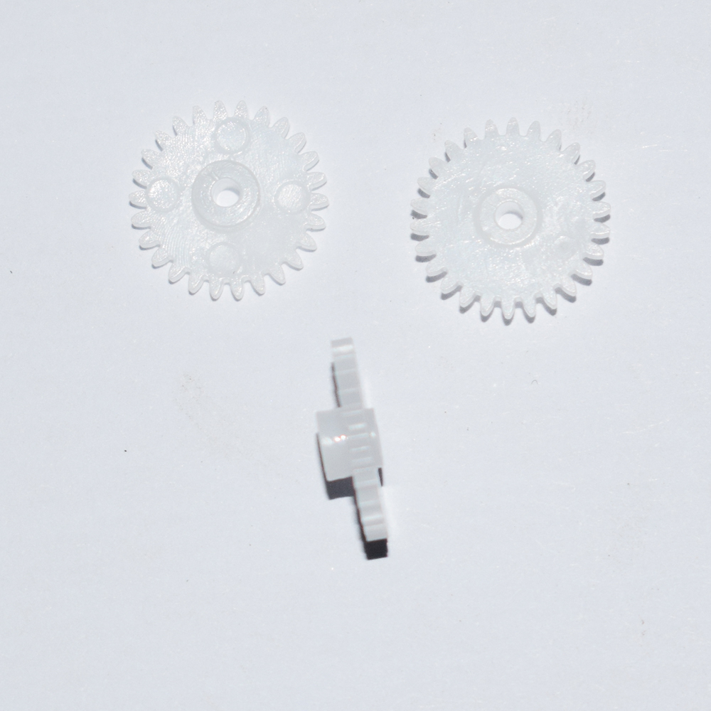 30pcs 26teeth/2MM hole/plastic motor gear/Reducer gear/hot wheel/DIY toys accessories/technology model parts/baby toys/262A