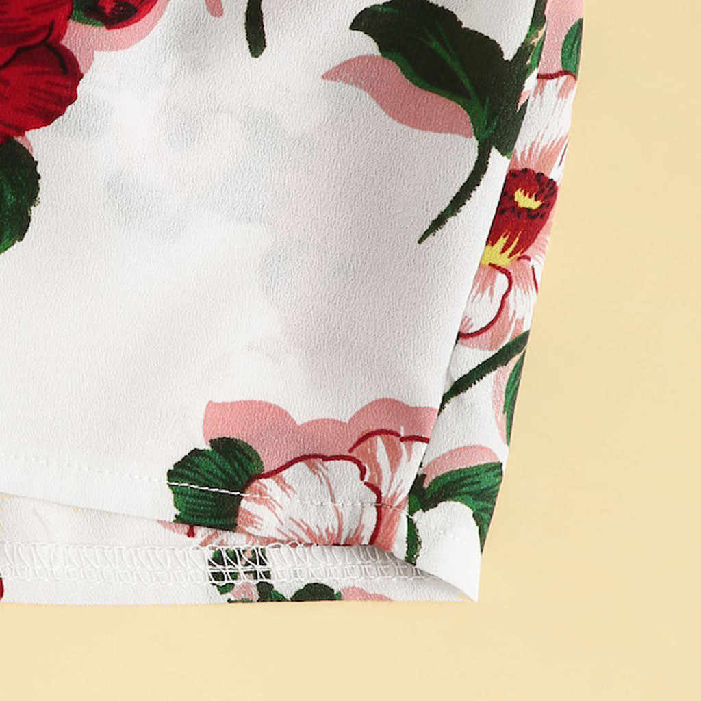 Jaycosin 2019 新夏の女性のスーツセクシーなファッションカジュアルスーツレッド花柄ボウノット作物トップベストショーツ水着セット 9042420