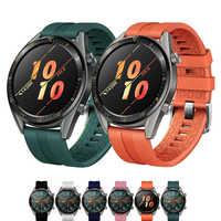 22mm banda de reloj para el Huawei watch GT Correa samsung galaxy Watch 46mm de S3 frontera amazfit gts/GTR 47mm/ritmo correa de pulsera