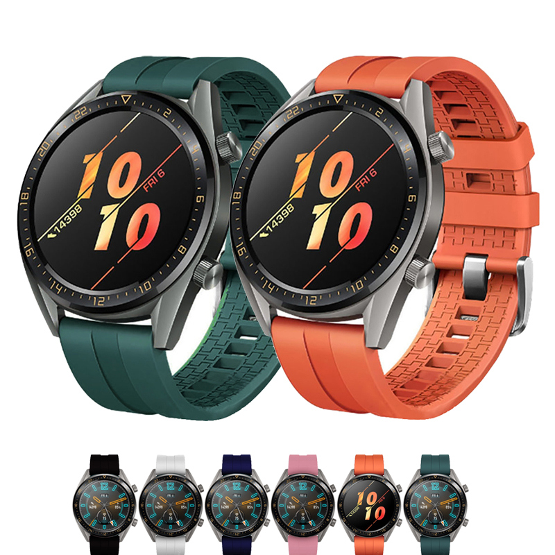 22mm uhr <font><b>band</b></font> für Huawei Uhr GT 2 42mm 46mm Strap samsung galaxy <font><b>watch</b></font> 46mm getriebe S3 Frontier amazfit gts strap armband image
