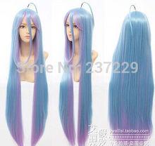 CS85&Wholesale ****Game No Life Shiro Anime Cosplay Costume Wig women's peruca hair queen wigs
