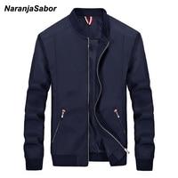 NaranjaSabor Men S Brand Clothing 2017 Autumn Mens Casual Jacket Mens Windbreaker Spring Slim Men Coats