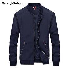 NaranjaSabor для мужчин брендовая одежда осень 2019 г. s Повседневная Куртка Ветровка Весна Тонкий Пальто для будущих мам мужс
