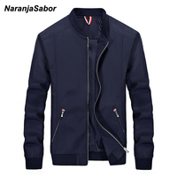 NaranjaSabor Men S Brand Clothing 2017 Autumn Mens Casual Jacket Mens Windbreaker Spring Slim Men Coats