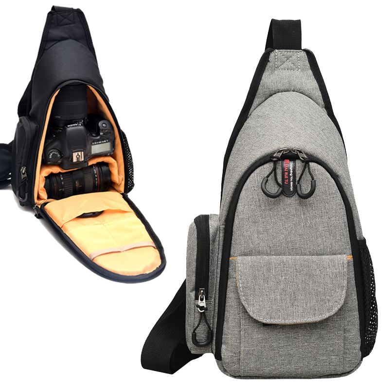 Waterproof DSLR Camera Bag For <font><b>Nikon</b></font> D7500 D7200 D7100 D5300 D3400 <font><b>D3100</b></font> D3000 D5100 D800 D610 D90 B700 P900 P600 Shoulder Bag image