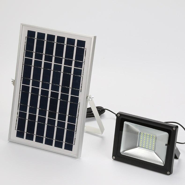 HOOREE 36 светодиодный солнечный свет литий железо фосфатный аккумулятор ИК пульт дистанционного управления на солнечной батарее лампа Водоне... - 4
