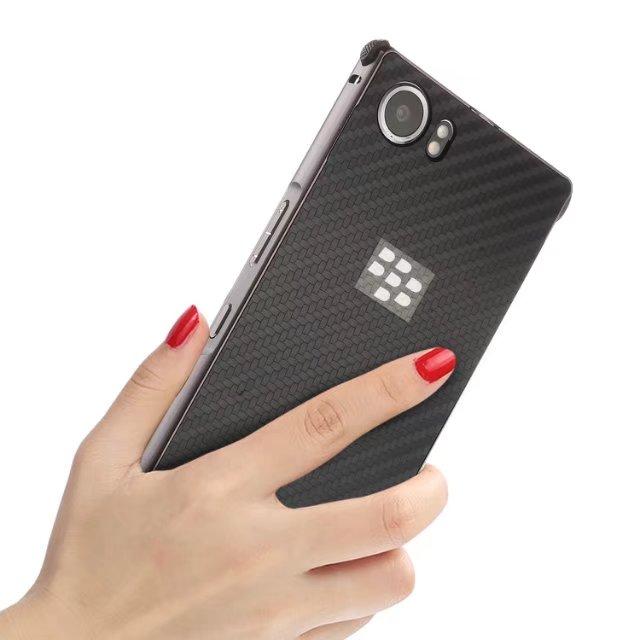 Углерода Волокно акриловые назад Алюминий металла Рамки съемная 2 в 1 противоударный чехол для blackberry keyone