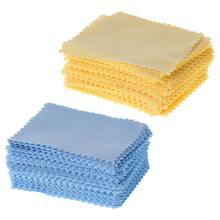 100 unidades/pacote óculos de pano lente limpador de poeira removedor portátil toalhetes não tecidos tela do computador do telefone acessórios