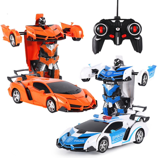 1:18 אחד-מפתח שינוי RC מכונית עם שליטת רדיו להיסחף מכונית ספורט דגם להפוך צעצוע לילדי ילד