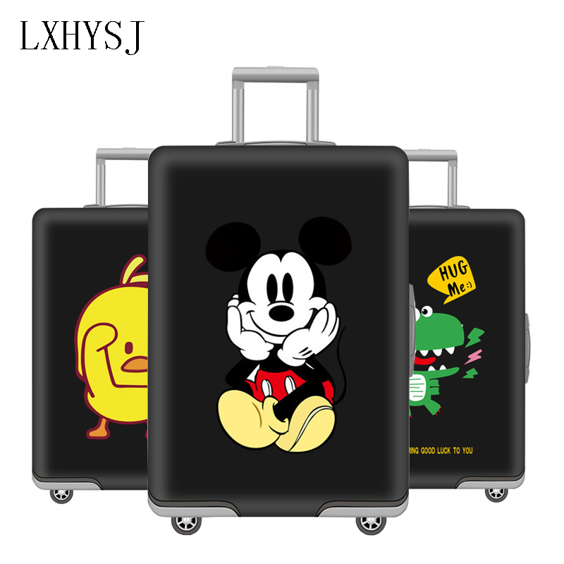 Animal Pattern Elasticity  Luggage Protective Covers Luggage Cover For 19-32 Inch Trolley Dust Cover Travel Accessories