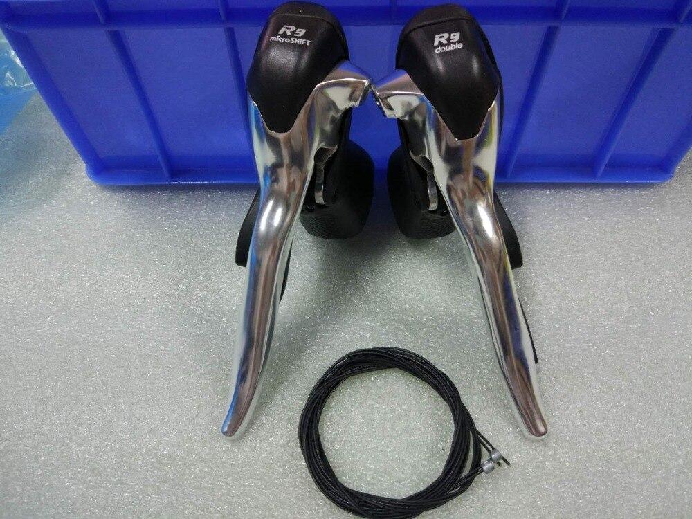 SB-R492 manette de vitesse voyage 2x9 groupe De vélo Avant Arrière Dérailleur microSHIFT 18 vitesse Route Vélo Dérailleur Compatibles Pour Shimano