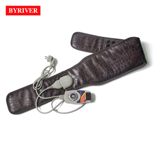 Image 5 - BYRIVER Korea Tourmaline Massage Belt Far Infrared Ray Heating Health Stomach Waist Heated Massager Germanium Magnetic Stone