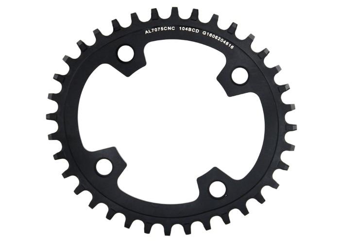 ФОТО Free Shipping GUB XX11 bicycle mountain bike mtb Oval crankset Chainring Chainwheel 34T 36T Aluminum BCD104 Gear mtb Chain Ring