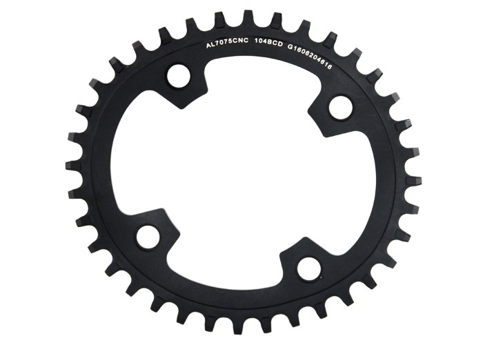 Livraison gratuite GUB XX11 vélo VTT vtt ovale pédalier plateau roue 34 T 36 T aluminium BCD104 engrenage vtt chaîne anneau