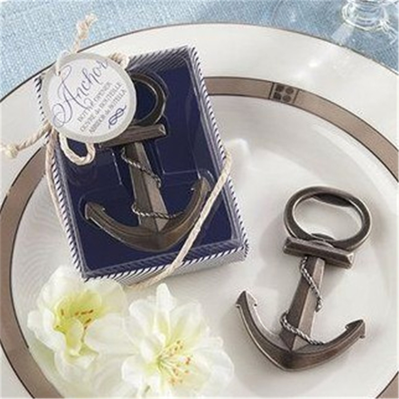 5pcslot Anchor Beer Bottle Opener Wedding Favors And Gifts Wedding
