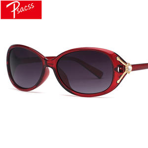 Psacss Polarized Sunglasses Women Vintage Retro Sun Glasses