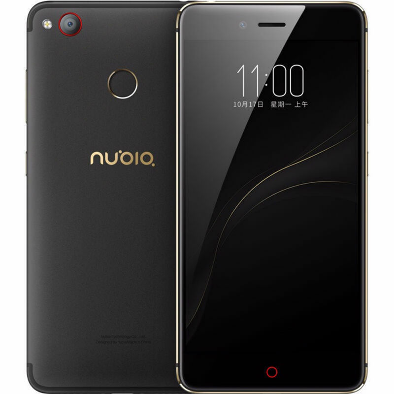 Original Nubia Z11 Mini S ZTE LTE 4G Mobile Phone MSM8953 Octa Core 5.2 Inch 4GB RAM 64/128GB ROM 23.0MP Fingerprint
