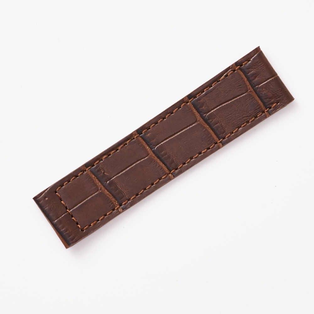 Echtes Leder Armband für RADO Uhr DIAMASTER Mann Armband Edelstahl Schnalle Weiche Leder 19mm 20mm 21mm braun Schwarz Werkzeug