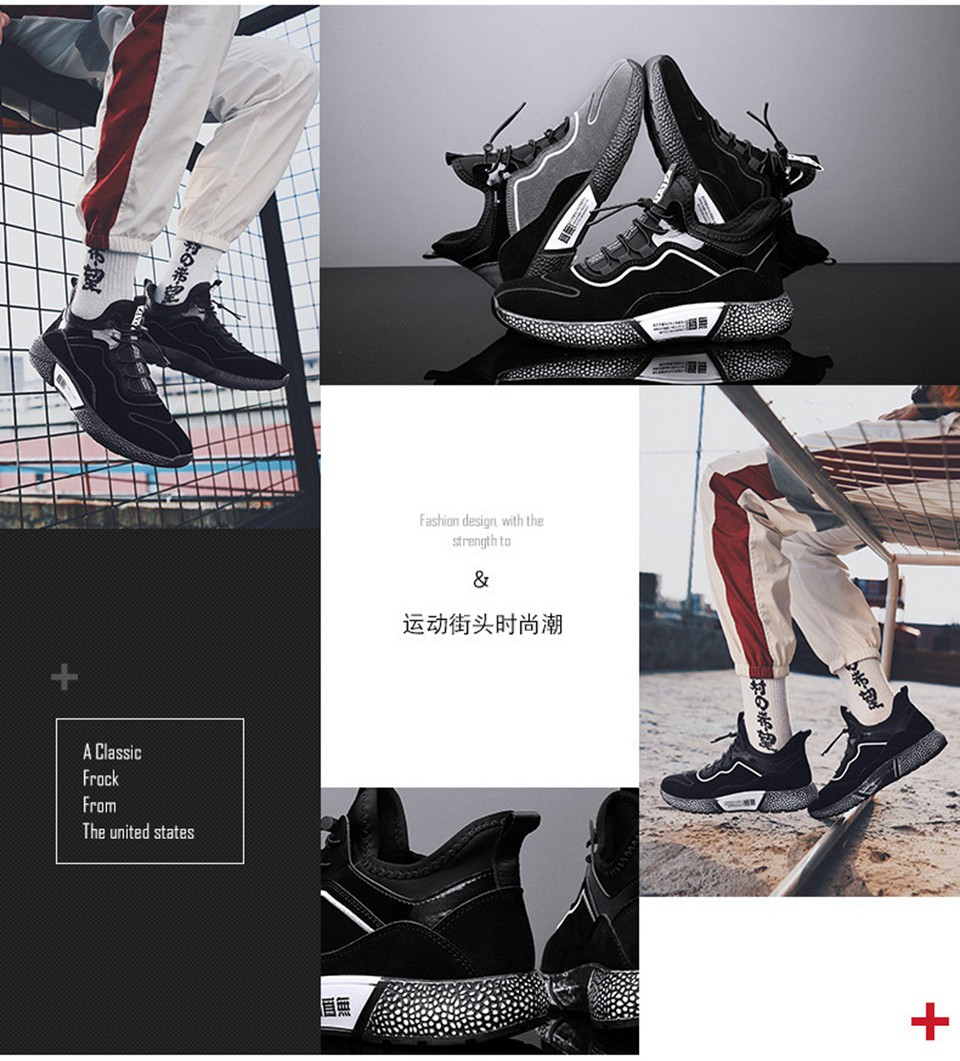 MUMUELI Gray Black Leather 2019 Designer Casual Breathable Shoes Men High Quality Fashion Luxury Ultra Boost Brand Sneakers L771 9
