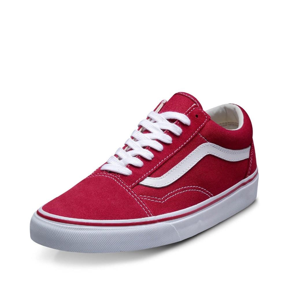 vans old school czerwone