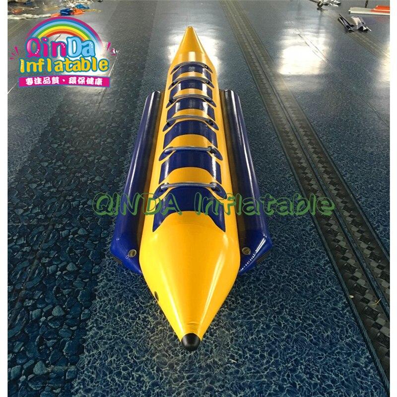 2019 offre spéciale Flotteur Gonflable De Banane De L'eau Bateau Gonflable Banane Bateau Flottant/Poisson Volant Gonflable