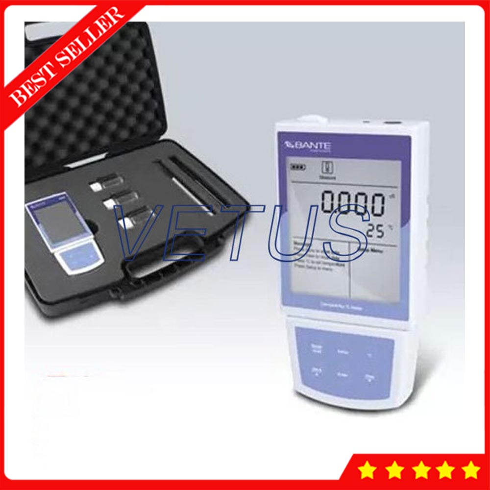 Bante520 Portable Conductivity Meter with USB Communication Interface