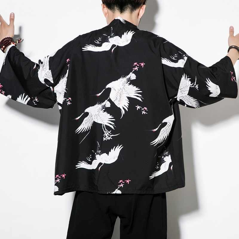 Traditionele chinese kleding voor mannen mannelijke Chinese mandarijn kraag shirt blouse wushu kung fu outfit tops linnen shirt TA351