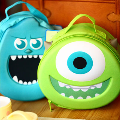 IVYYE 1PCS Sulley Mike Doraemon Fashion Anime Cosmetic Bags Zipper Travel Makeup Bag Storage  Wash Toiletry Girls New
